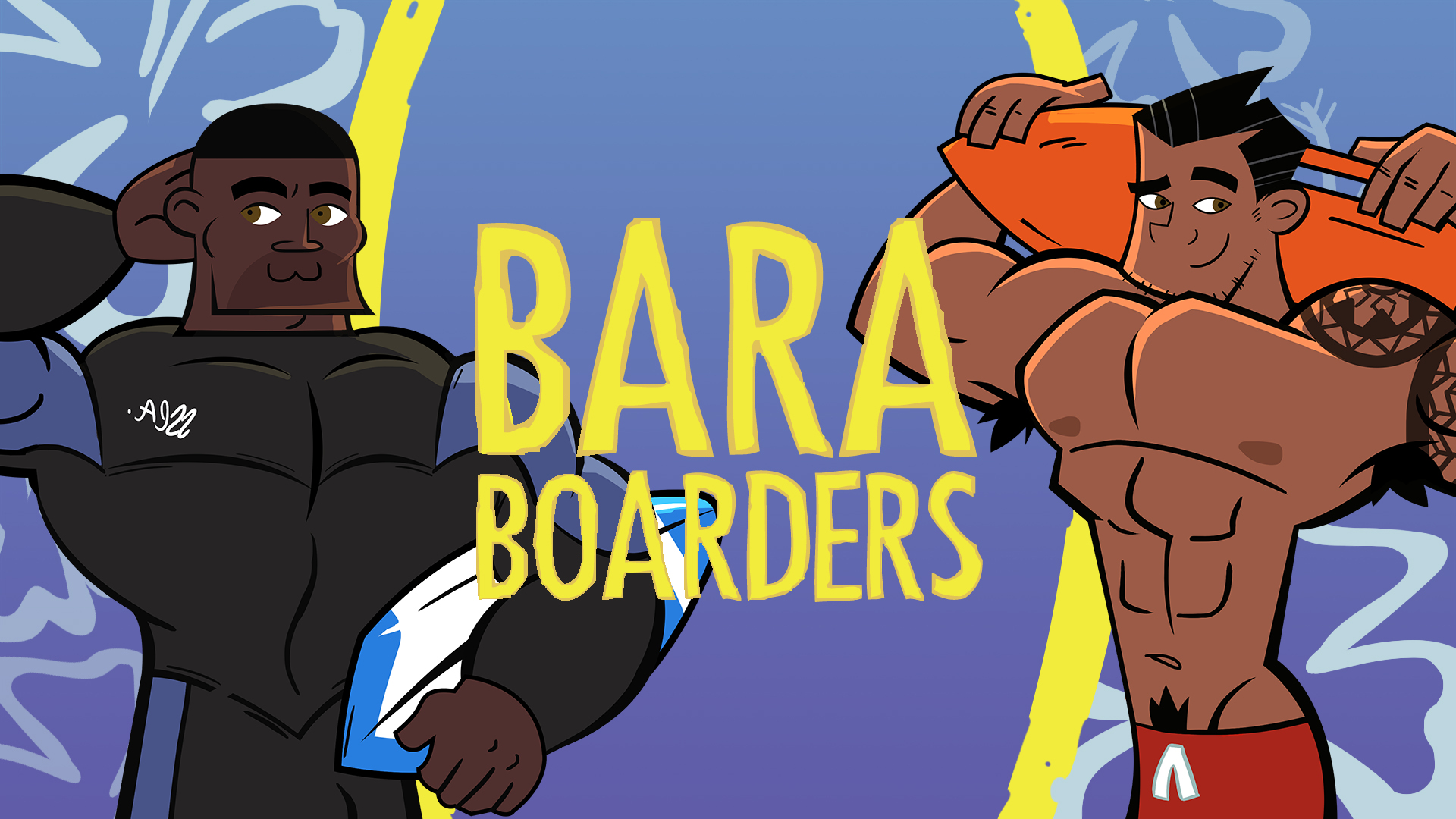 Date some Surfer Bros in Bara Boarders!