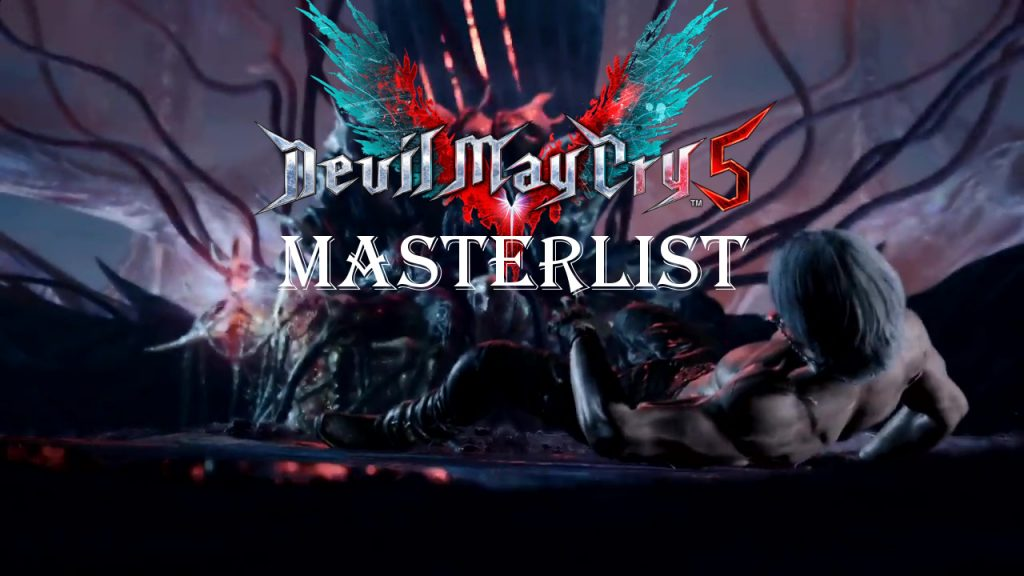 devil may cry 5 masterlist titelcard