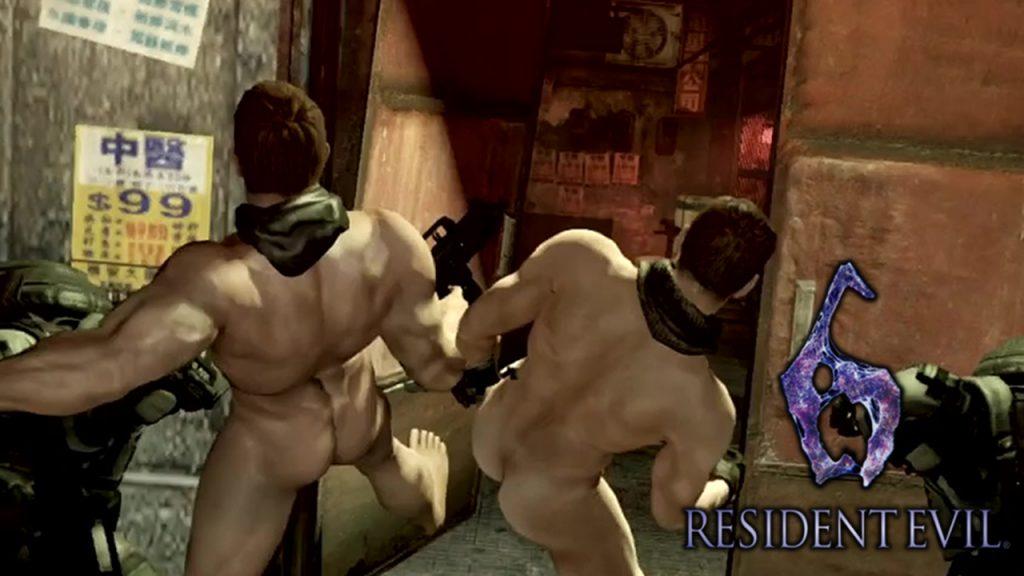 resident evil 6 nude run chris campaign